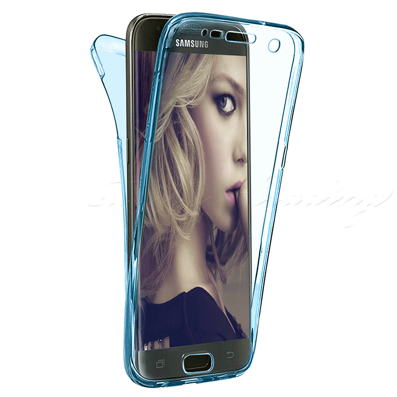 Front Back Clear Full Cover Phone Case For Samsung Galaxy Note9 8 A6 A8 Plus J6 J4 J8 2018 A3 A5 A7 J5 J7 2016 2017 Neo Prime 360 degrees