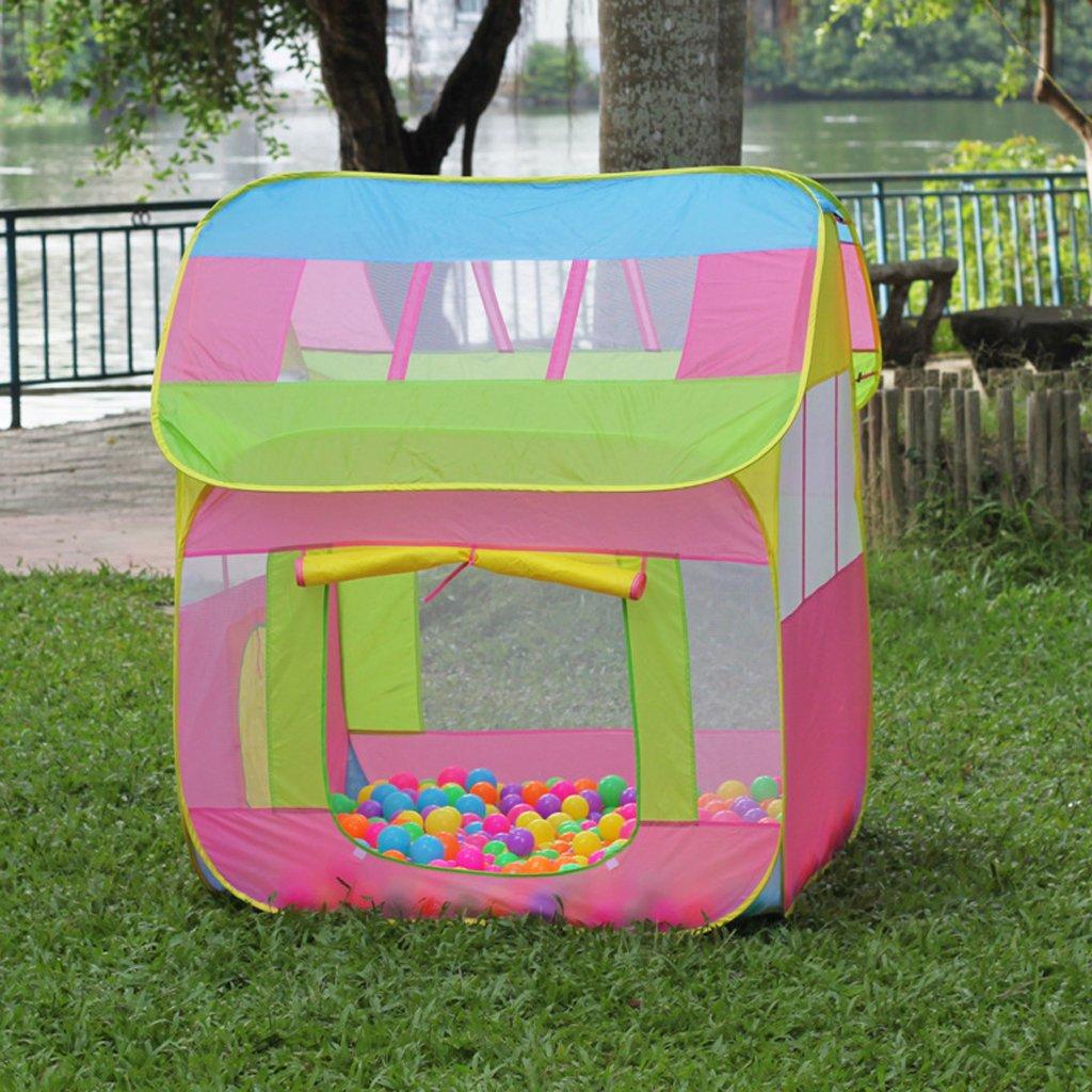 Portable enfants jouer tente balle fosse jouer maison pliante tente jouet jeu tentes pour enfants en bas âge intérieur en plein air amusement