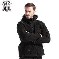 Winter Tactical Jacket Military Uniform Outdoor Soft Shell Fleece Hoody Jacket Men Thermal Hunting Clothing Hoodies