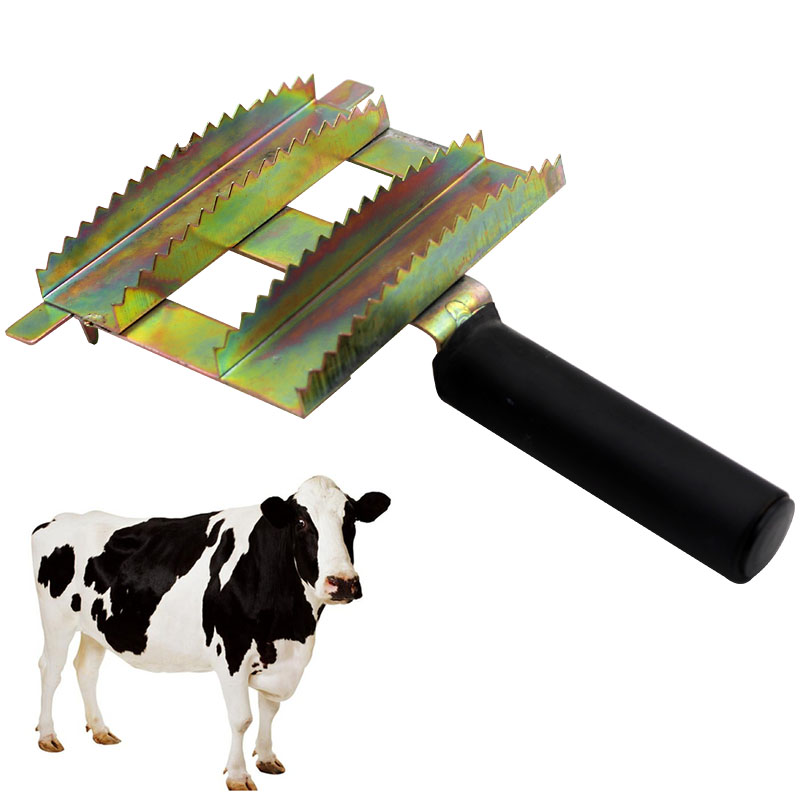 Livestock Cattle Hair Antipruritic Ox Hair Comb Brush for Horse Cattle Cow Sheep Purpose Husbandry Equipment