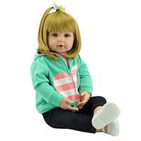 Hot Sale NPK Reborn Baby Dolls Realistic Silicone Girl Princess 47 CM / 60 CM Baby Dolls Alive Simulation Reborn Toddler Toys