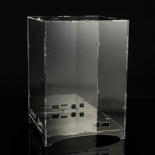 DIY 8x8x8 512 LED 3D Licht Cube Kit Acryl Fall Musik Spektrum Shell Fall Für Werbung display Elektronische Produktion Shell