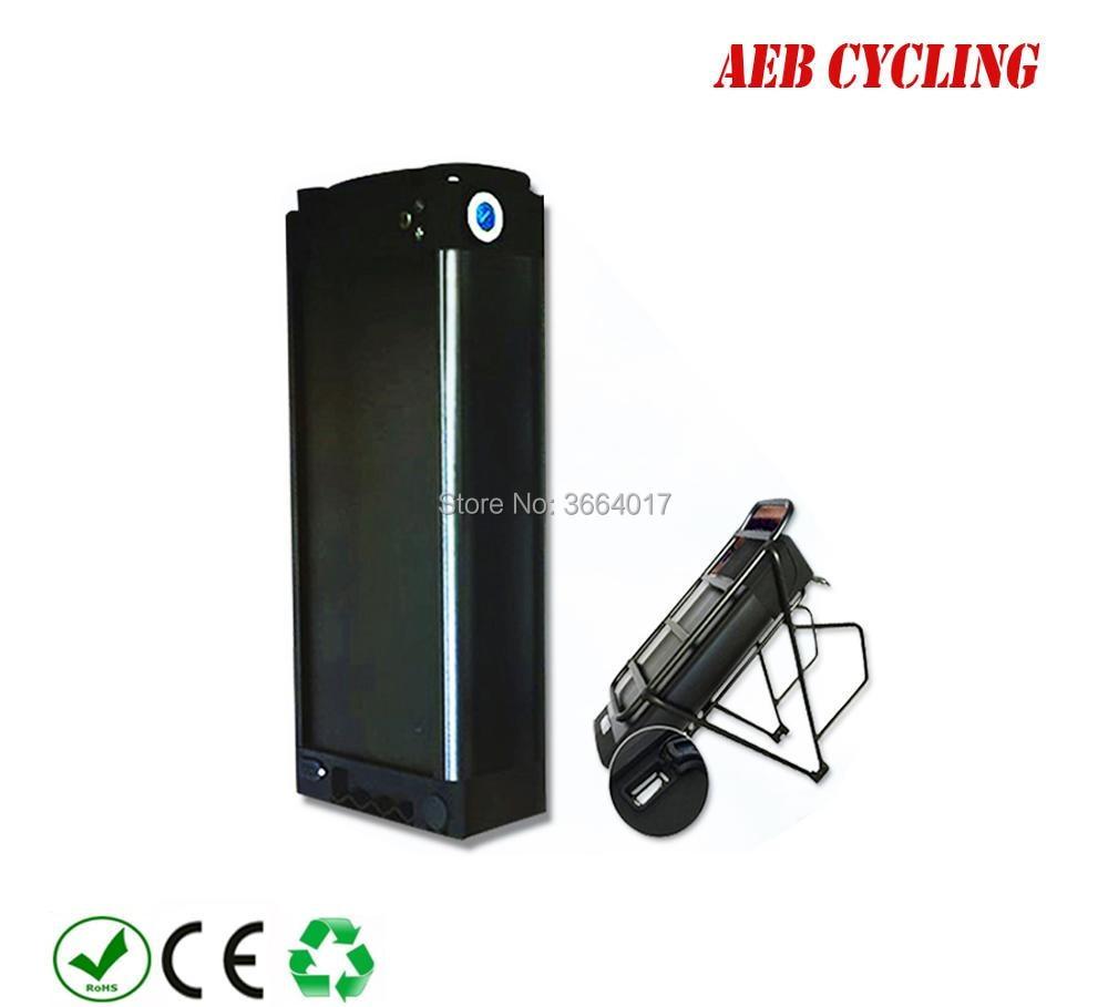 Free Shipping 60V 1000W/1500W electric cargo bike battery 60V 20Ah 22Ah 23Ah 24.5V big rear rack Li-ion powerful battery