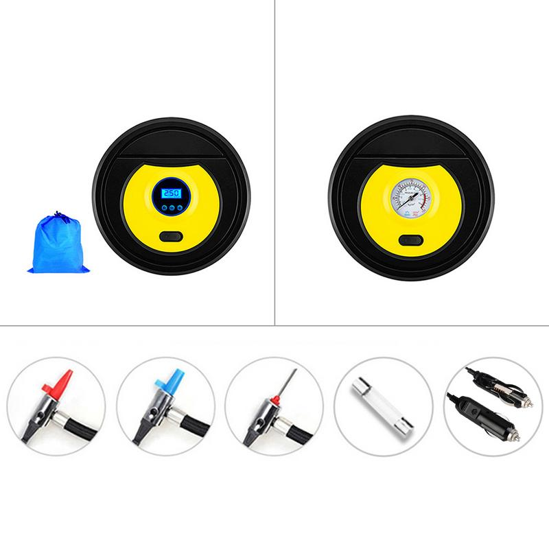 Car Electric Tire Pump Air Compressor Pump 12V Portable Universal For Truck Motorcycle Bicycle Balls Other Inflatable Objects