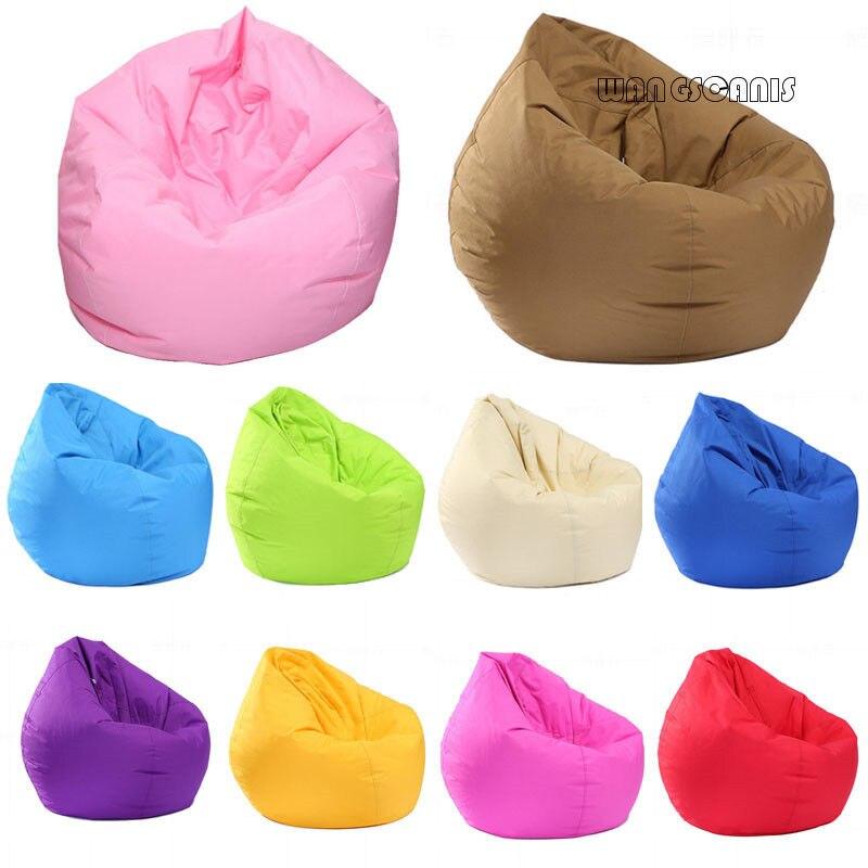 Bean Bag Sofa Cover Home Soft Lazy