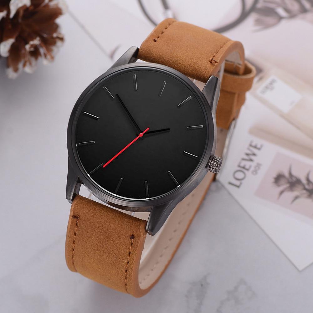Relojes Mujer 2019 Mens Watches Top Brand Luxury Ultra-thin Wrist Watch Men Watch Men's Watch Clock Erkek Kol Saati Reloj Hombre