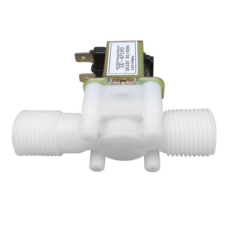 Heimwerker Ventil 12 V 1/2 Inch N/c Kunststoff Elektrische Magnetventil Magnet Wasser Luft In Der Regel Geschlossen Farben Sind AuffäLlig