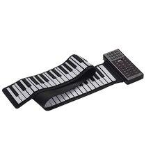 Piano digital portátil com 88 teclas, piano manual, multifuncional, teclado de piano embutido, bateria de lítio recarregável