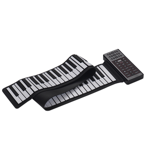 Image 1 - Portable Electric 88 Keys Hand Roll Up Piano Multifunction Digital Piano Keyboard Built in Speaker Rechargeable Lithium Battery