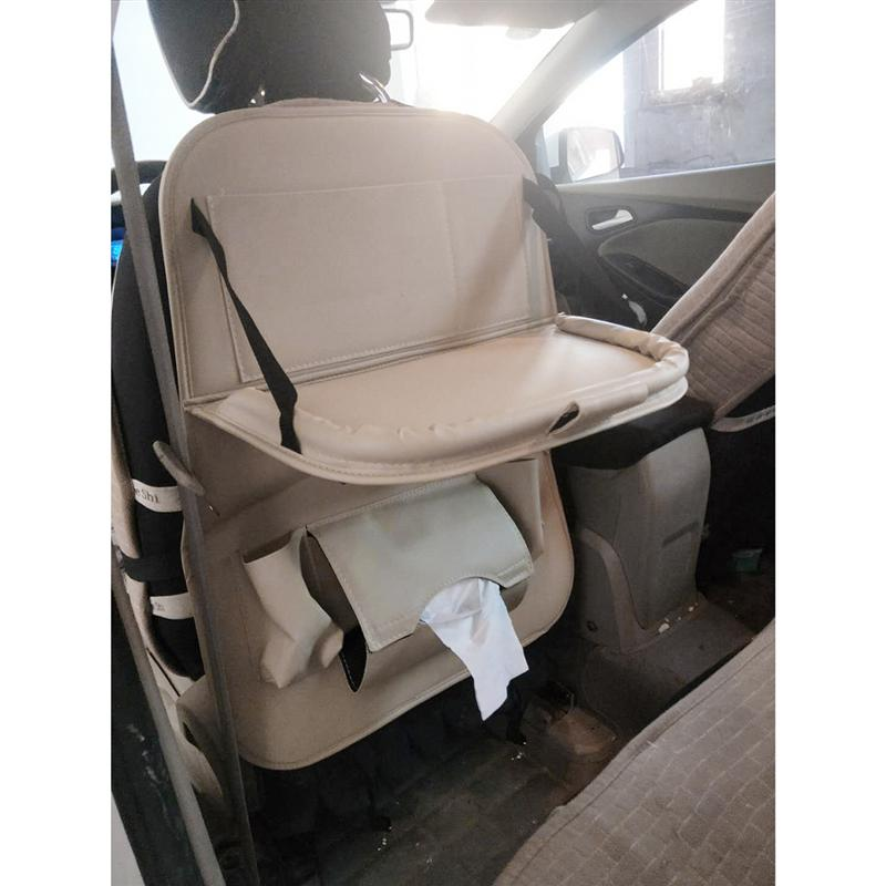 1 Pc 63x48x8 Cm Auto Back Seat Organizer Met Kids Speelgoed Flessen Opslag Opvouwbare Eettafel Auto Opknoping Organizering Tas Matige Prijs