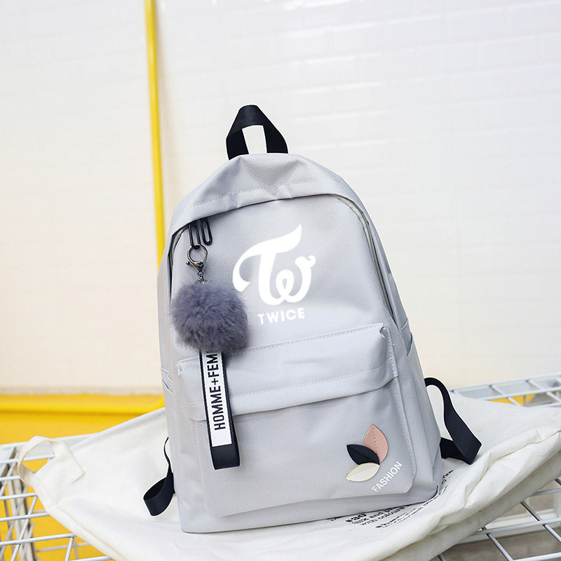 BackPack Twice Exo Got7 Backpacks Monsta X Bag For Teenager Wanna One Women Backpack School Girl Sac A Dos Nct Stray Kids
