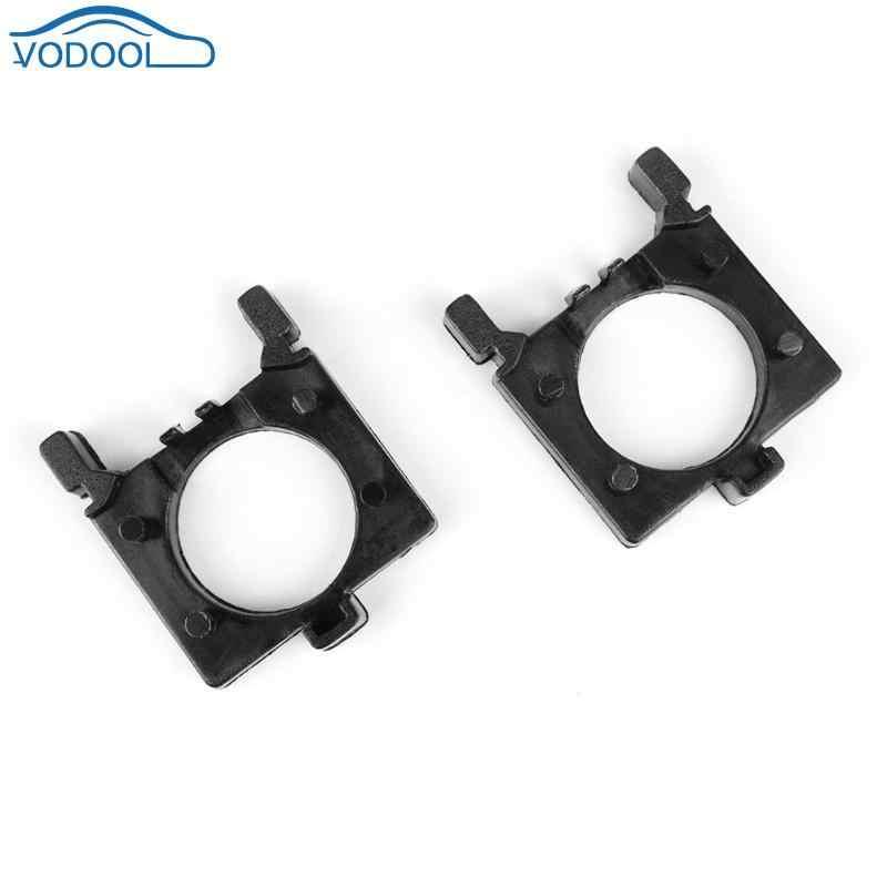 1 זוג H7 LED רכב פנס מתאם הנורה בסיס מתאמי Socket מחזיקי עבור MK2 מונדיאו MK4 אוטומטי פנס הר Stand