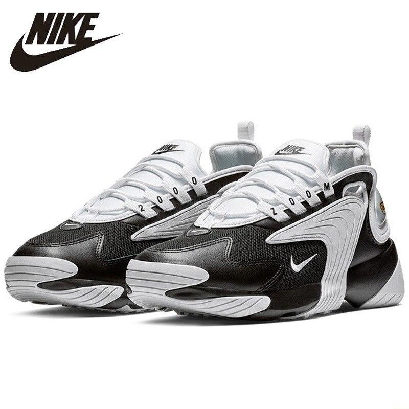 Nike ZOOM 2K Movimento Dos Homens Originais Running Shoes Confortável Almofada de Ar Sapatos Casuais Luz Tênis Respirável # AO0269-003