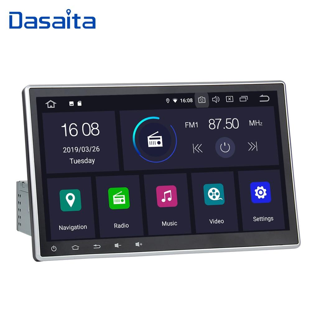 dasaita 1 din android 9 0 car radio universal 10 2 autoradio android for toyota nissan. Black Bedroom Furniture Sets. Home Design Ideas