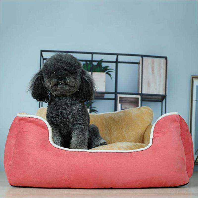 Cat Supplies New Fashion Pet Dog Trillion Shape Bed Cat Sleeping Warm Soft Comfortable Bags Nest Soft Bed Sofa House With Removable Cushion Pd0060 Latest Technology Home & Garden