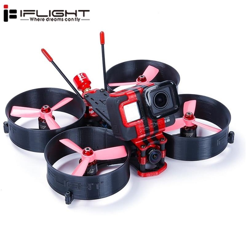 iFlight MegaBee 3 Inch Cinewhoop FPV Racing Drone BNF F4 Flight Controller 2-4S 35A ESC 500mW VTX Support GoPro5/6/7 4K CamiFlight MegaBee 3 Inch Cinewhoop FPV Racing Drone BNF F4 Flight Controller 2-4S 35A ESC 500mW VTX Support GoPro5/6/7 4K Cam