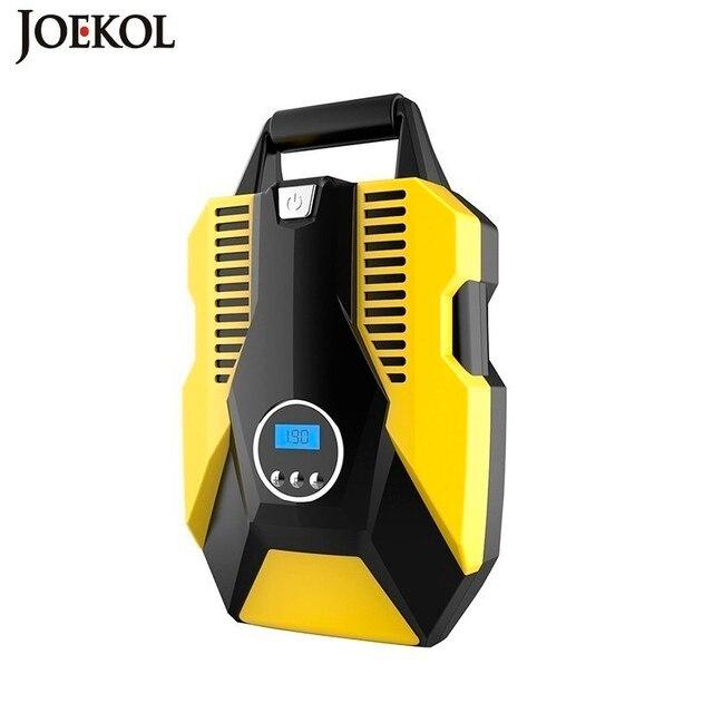 شاشة ديجيتال السيارات ضاغط هواء للسيارة 12 فولت/220 فولت مضخة صغيرة قابلة للنفخ منفاخ إطارات السيارات للدراجات النارية السيارات