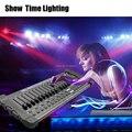 Dj dsco регулятор сценического освещения 384 каналов DMX512 консоль диджея контроллер оборудования профессиональное сценическое освещение Управ...