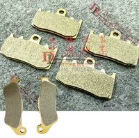Free shipping Motorcycle Parts Front Rear Brake Pads Kit set For BMW R1100S 00 03 R1150GS 01 07 R1150RT 00 06 R1200GS 02 12