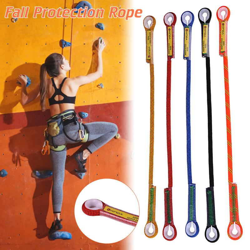 Outdoor Rock Climbing Loop Sling Cord Safety Rope Outdoor Climbing Rope Survival Fall Protection Rope Mountaineering Equipment