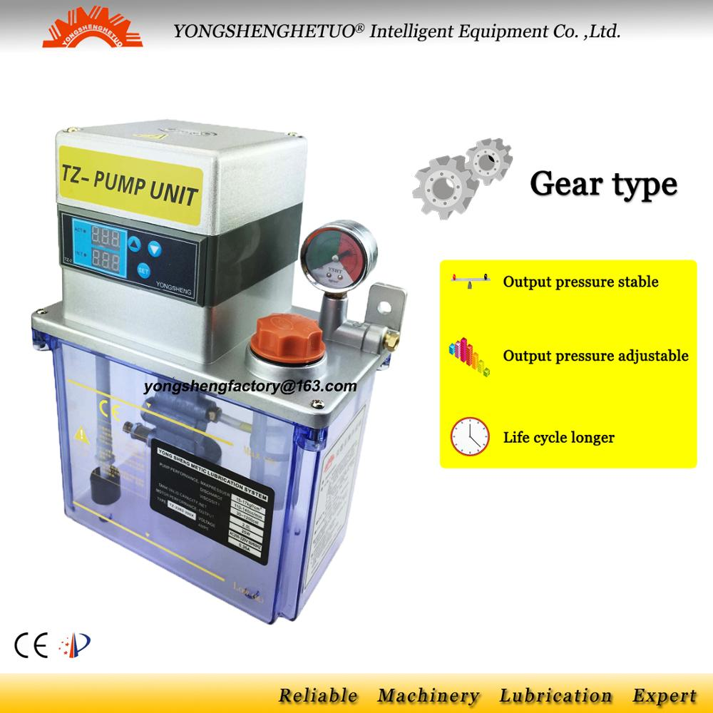 CE Electric Lubrication oil pump gear lubricator oiler lubricating unit TZ2262 200X for centralized lubrication system
