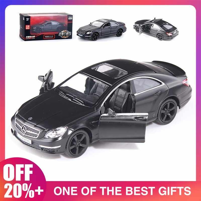 1:36 Cls Alloy Car Model Simulation Pull Back Car Diecasts Toy Vehicles Classic Metal Cars Kids Toys High Quality Diecast Car