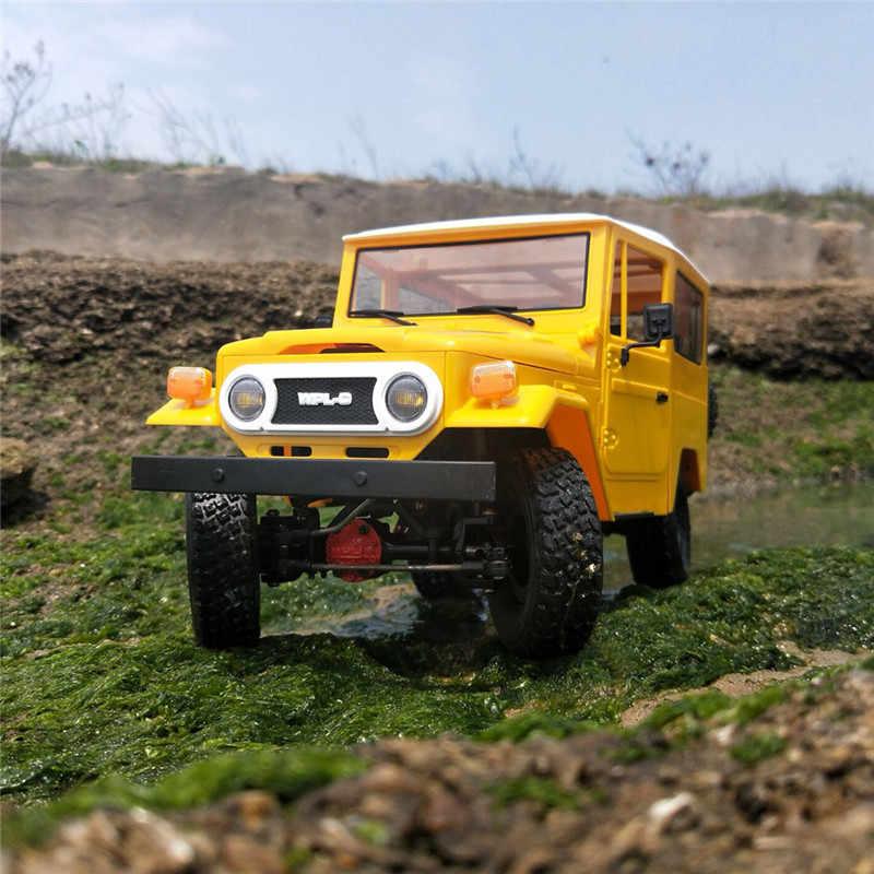 WPL C34 C36 1/16 Kit 4WD 2.4G Buggy Crawler Off Road RC Auto 2CH Speelgoed Plastic Metalen Editie Kleine RC Auto Outdoor Speelgoed VS WPL C24