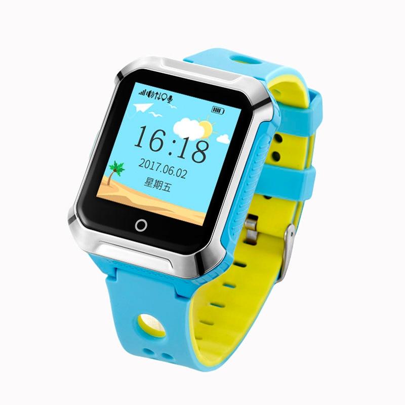 Smart GPS WIFI Tracker Locator Touch Screen Kid Child SOS Call Remote Monitor Alarm Watch Wristwatch