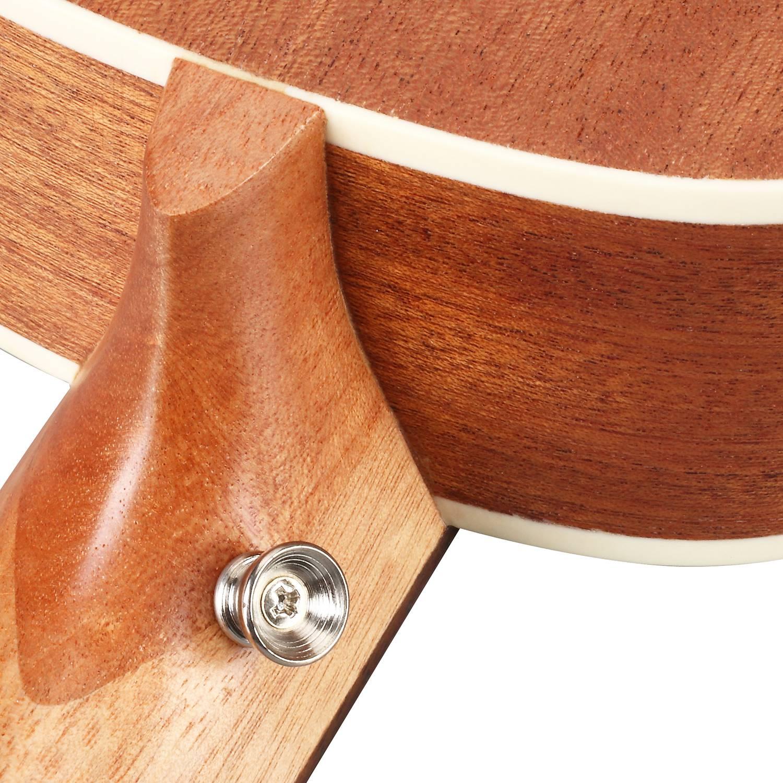 BURKS ukulélé épicéa Concert ukulélé guitare 4 cordes hawaïenne guitare Instruments de musique - 6