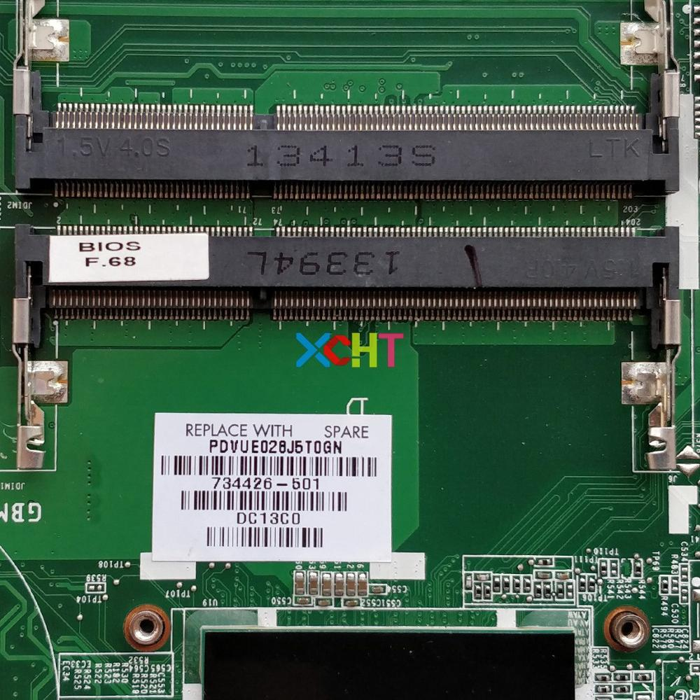 Image 3 - 734426 501 734426 001 w HD8670M/2GB Graphics w i5 4200U CPU for HP Pavilion 14 n Series Laptop Motherboard Mainboard Tested-in Laptop Motherboard from Computer & Office