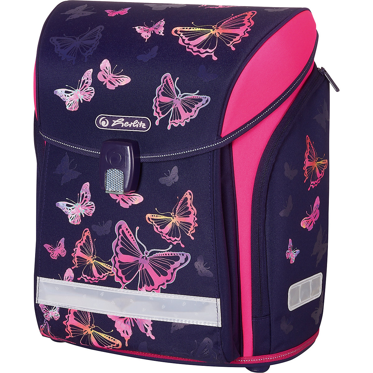 School Bags HERLITZ 11091931 schoolbag backpack orthopedic bag for boy and girl animals flowers new arrival hello kitty cartoon backpack female girl school bags primany schoolbag for girls in stock