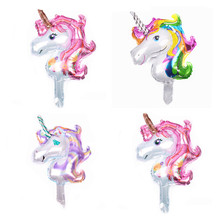 Unicorn Party Balloon Decoration 5pcs Birthday Baby Shower Wedding Child Toy Gift