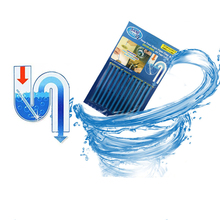 12Pcs/set Cleaning Sticks Sewer Rod Cleaning Tool Sewage Decontamination to Deodorant Kitchen Toilet Bathtub Drain Cleaner mp 3500 twisted blade sewage pumping septic sewer toilet without clogging sewage pumps garbage
