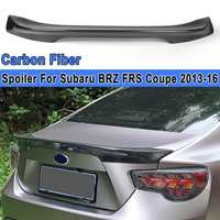 Carbon Fiber Rear Spoiler Wing Lid For Subaru BRZ FRS Scion GT86 For Coupe Style 2012 2013 2014 2015 2016 2017 2018