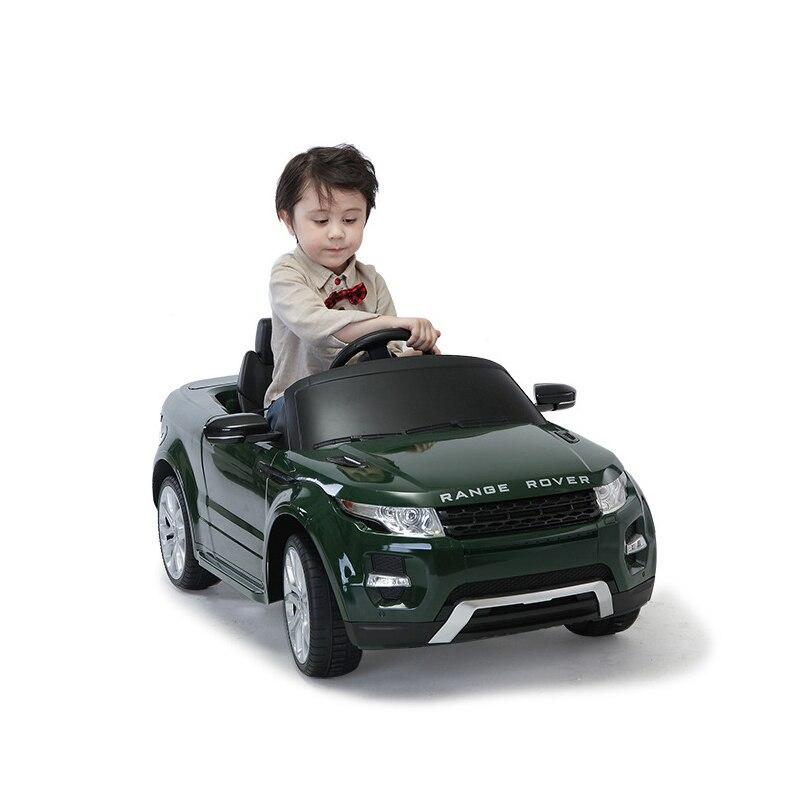 Poussette électrique à quatre roues pour enfants balade en voiture jouet peut s'asseoir sur une voiture télécommandée à double entraînement - 3