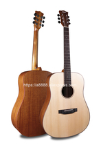 Finlay 41Acoustic  Guitar,Solid Spruce Top/Mahogany body,guitars china With Hard case,Rhythm guitar