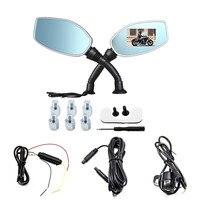1 Pc Motorcycle Camera Loop Recording HD 1080P 2.7 inch Motion Detector Dual Cameras DVR Video Recorder Dash Cam for Motorcycle