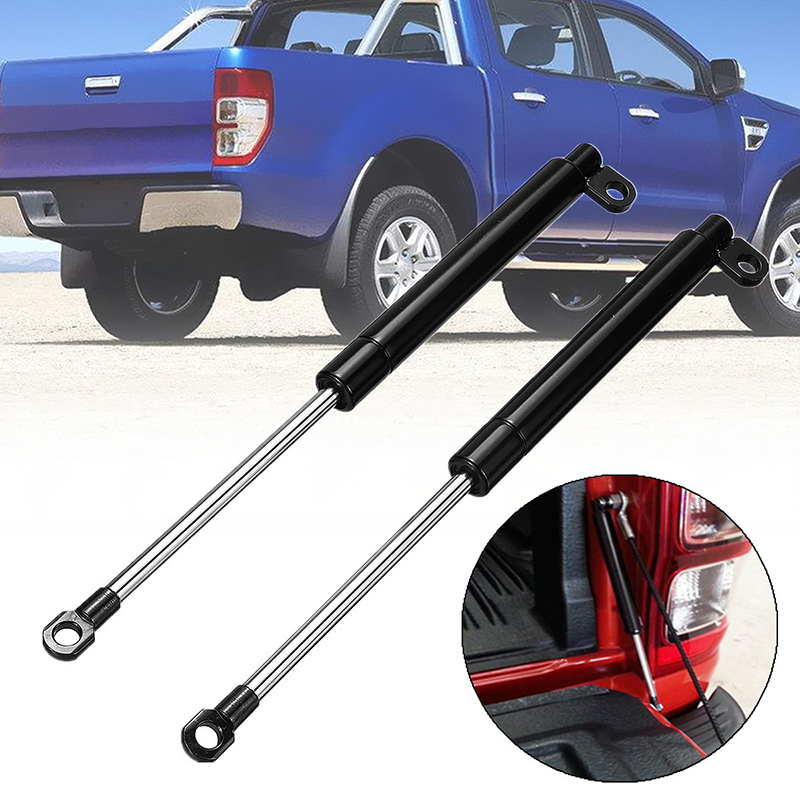 1 Pair 195mm Spring Steel Tailgate Slow Down & Easy Up Strut Set For FORD RANGER T6 Year 2012 2013 2014 2015 2016 Car Accessory