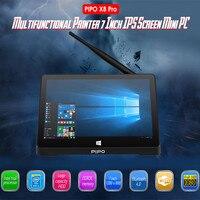 Pipo X8 Pro 7 дюймов Mini PC Android 5,1 1280*800 Интер Cherry Trail Z8350 Графика 400 2 GB Оперативная память 32 ГБ Встроенная память 2,4 ГГц Wi Fi BT4.0 Mini PC