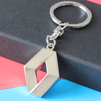 1Pc 3D Metal Car Key Ring for Renault Emblem Keychain Car Accessories Key Chain keyring key chain car styling