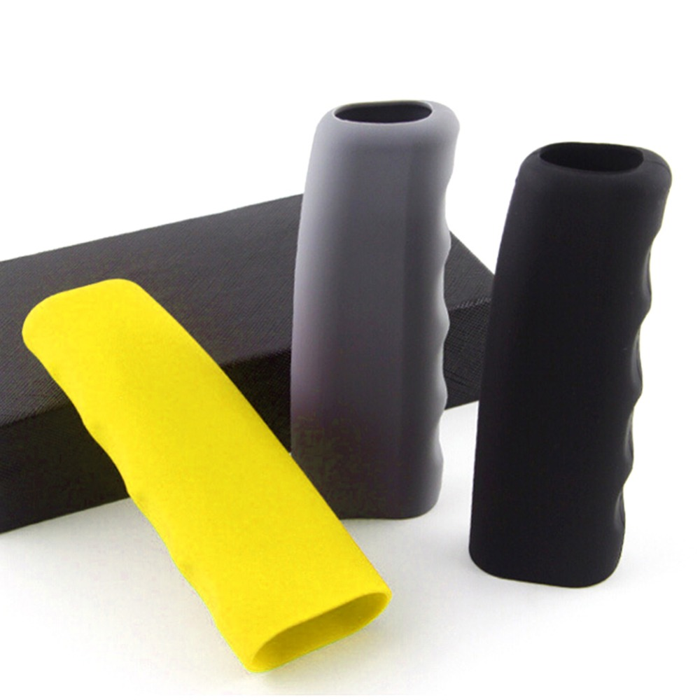 Useful And High Quality Silicone Car Handbrake Sleeve Gel Cover Anti-slip Parking Hand Brake Sleeve(China)