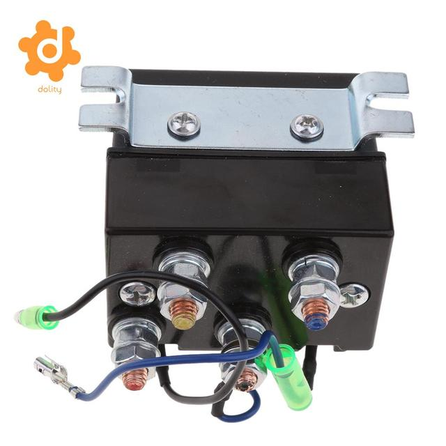 200 amps dc winch motor reversing solenoid relay switch 12 volt