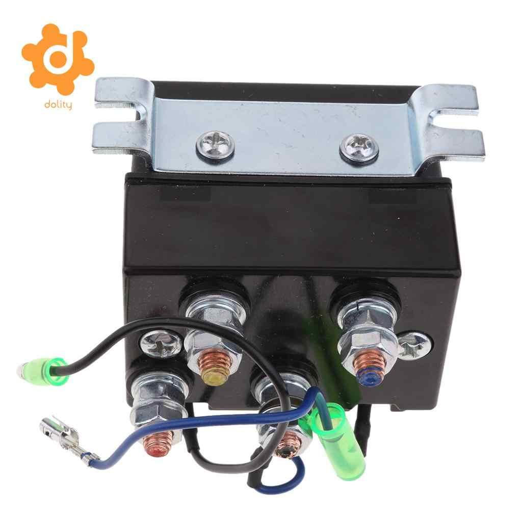 200 amps dc winch motor reversing solenoid relay switch 12 volt contactor [ 1024 x 1024 Pixel ]