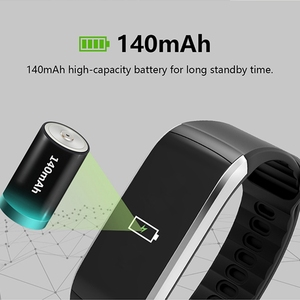 Image 5 - KR02 IP68 Waterproof Fitness Bracelet GPS Smart Band Heart Rate Monitor Watch Activity Tracker 3 for Xiao Mi Android IOS Phone