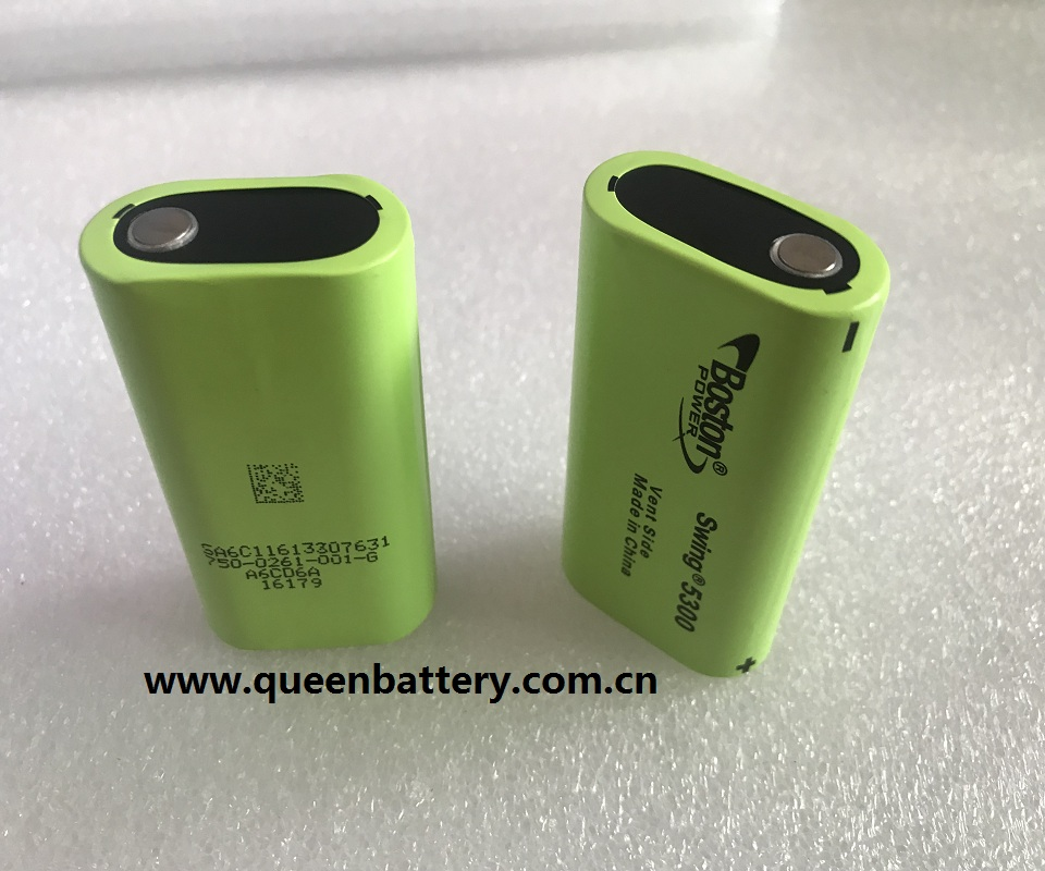 (18pcs/lot free shipping-RU UA PL)BOSTON POWER 5300mAh SWING segway battery  hoverboard battery e-car battery 3.7v