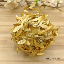Melsnajsd 3M cheap Artificial flowers vine christmas for home wedding car decor accessories fake plants Leaf wreath gifts