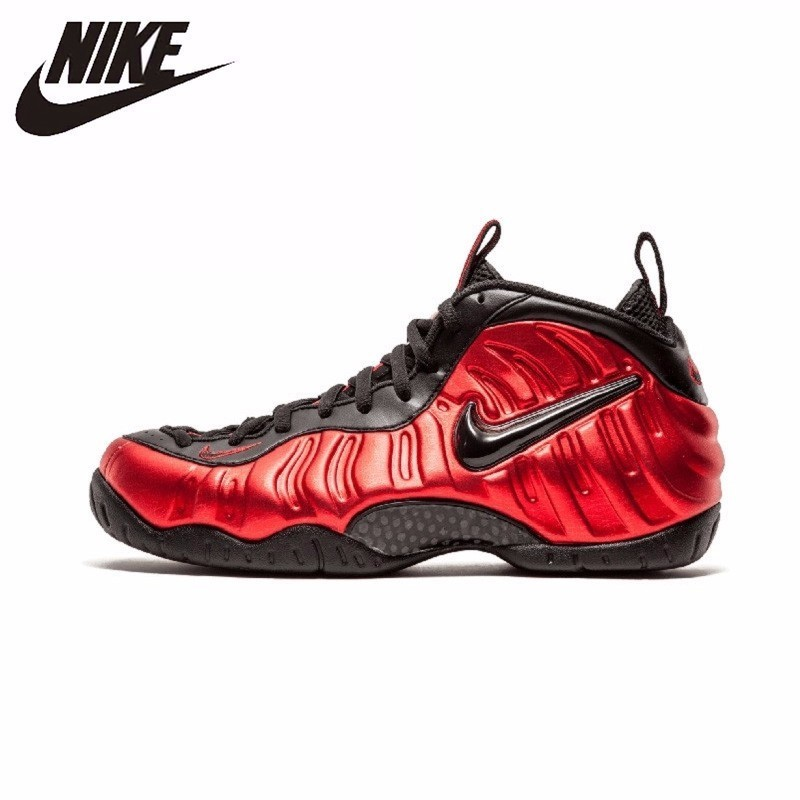 Nike Air Foamposite Pro nouveauté Original Imioio Blackish chaussures de course à bulles baskets confortables #624041