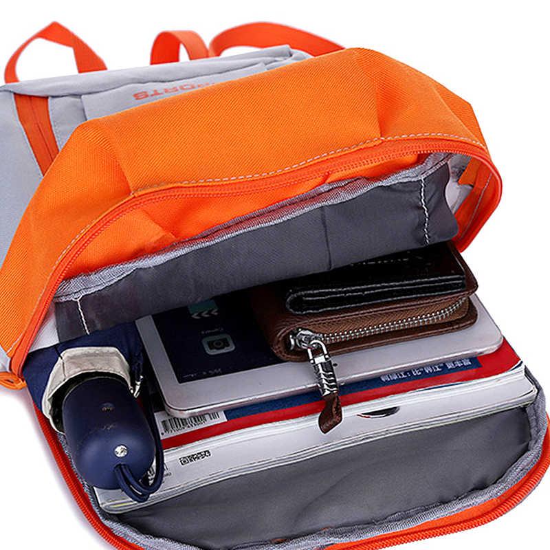 7cef10b608 ... Outdoor Waterproof Schoolbag Large Capacity Unisex Kids Pack Knapsack  Rucksack Cycling Travel Nylon Adjustable Backpack Supplies ...