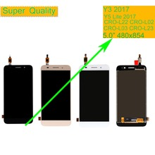 10Pcs/lot For Huawei Y3 2017 CRO-L02 CRO-L22 CRO-L03 CRO-L23 LCD Display Touch Screen Assembly Y5 Lite 2017 LCD Digitizer Screen цена