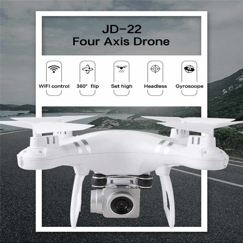 JD22 360 CuộN HD 1080P WIFI FPV Selfie Drone RC Camera Drone Chuyên Nghiệp Có Thể Gấp Gọn Mini Drone Cao Thiên Thần máy Bay Trực Thăng